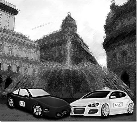 uber versus taxi